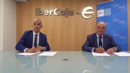 La FER e Ibercaja renuevan su alianza para mejorar el acceso a la financiación y a la liquidez de empresas y autónomos