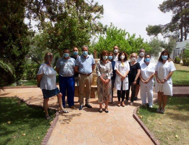 Visita al Centro de Drogodependencias de Lopera