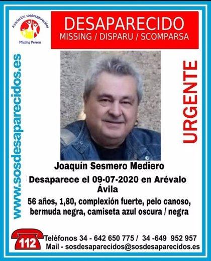 Reanudada la búsqueda de un hombre de 56 años desaparecido en Arévalo (Ávila)