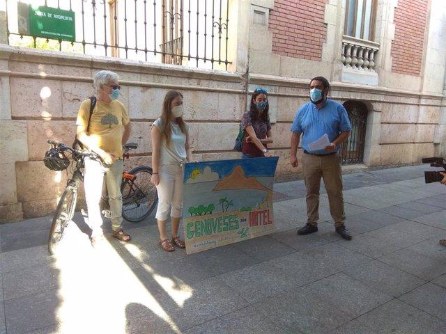 Colectivos ecologistas pedirán una investigación de la UE sobre el proyecto de hotel en Genvoveses