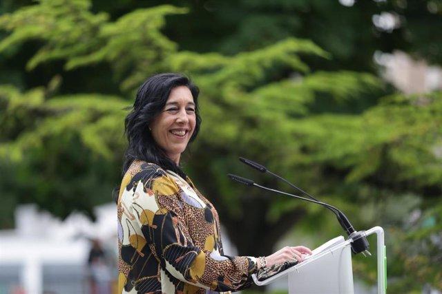 La parlamentaria de Vox, Amaia Martínez