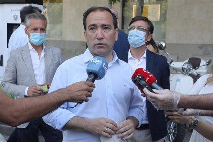 Carabante confirma que aún no está decidido el futuro del puente de Joaquín Costa y que hoy no ha habido incidencias