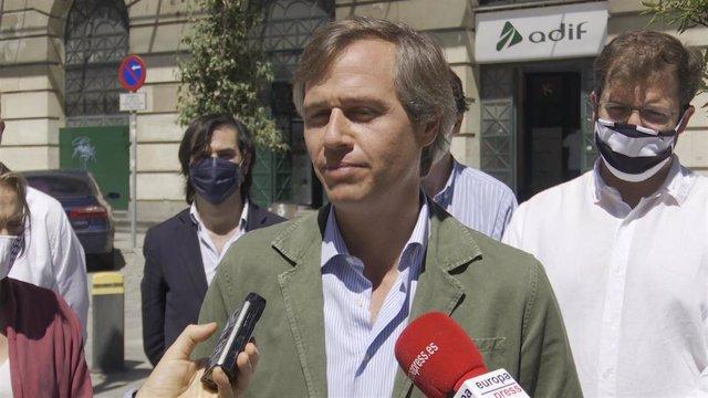 Antonio González Terol, vicepresidente de Política Territorial del PP.
