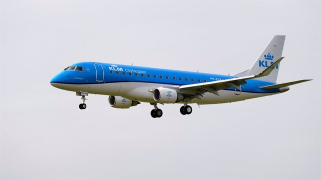 Avión de KLM Royal Dutch Airlines