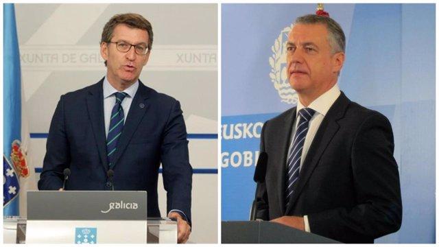Feijoó i Urkullu, guanyadors de les eleccions gallegues i basques