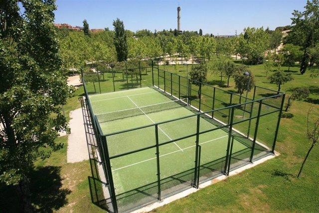 Instalación deportiva en Tres Cantos.