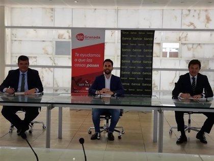 Bankia y la Asociación de Jóvenes Empresarios estrechan lazos para el impulso empresarial de Granada