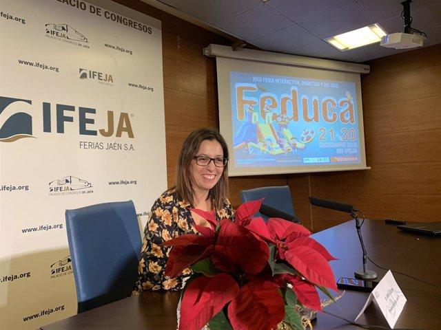 La presidenta de Ferias Jaén, África Colomo/Archivo