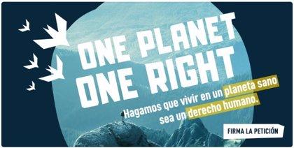 Un centenar de ONG reclaman que la ONU declare que el derecho a un planeta sano sea considerado derecho humano