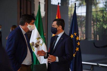 """Marín: """"Ahora"""" puede ser el momento de una """"remodelación"""" para """"reforzar"""" áreas del Gobierno andaluz"""