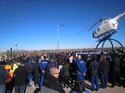 """De la Rosa asegura que CCOO se """"partirá la cara"""" por mantener el empleo en Airbus Illescas"""