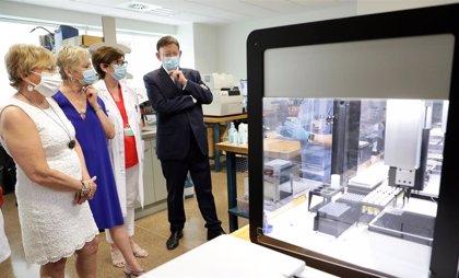 Una nueva estación robotizada en La Fe permite llegar a 3.500 PCR diarias