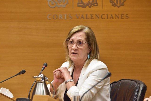 Rosa Guiralt en Les Corts