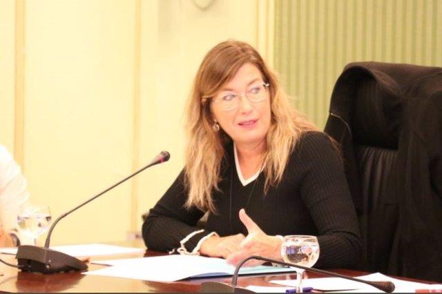 Consellera de Salud y Consumo, Patricia Gómez.