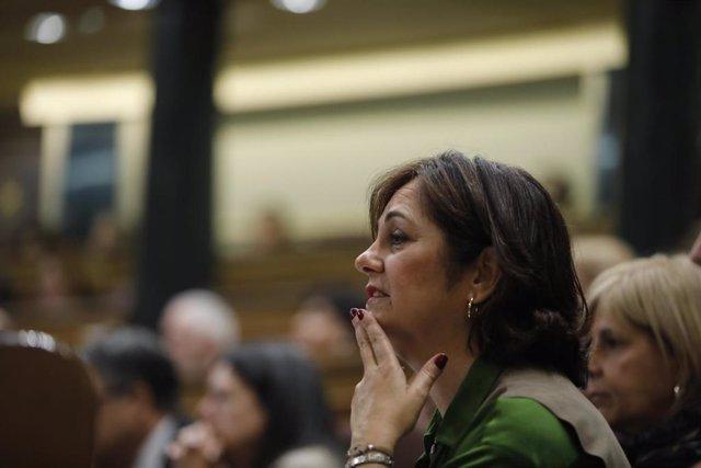 Imagen de archivo de Beatriz Escudero en el Congreso de los Diputados.