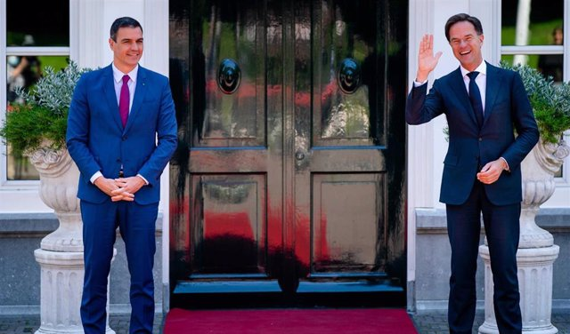 Spanish Prime Minister Pedro Sanchez in Netherlands
