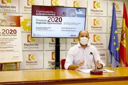 La Diputación de Córdoba pone en marcha 'Segunda Oportunidad' para la contratación de personas de entre 45 y 55 años