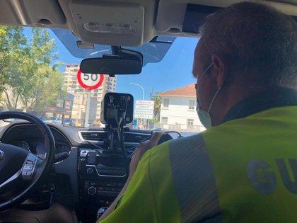 Detectado un conductor a 150 km/h en un tramo limitado a 50 en Oleiros (A Coruña)