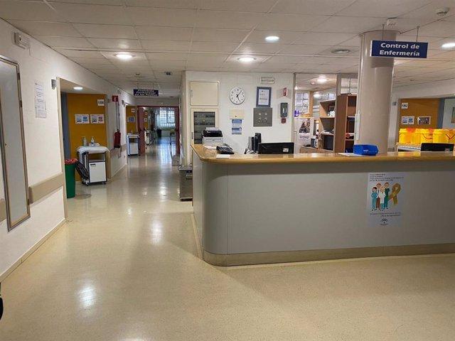 Control de Enfermería del Hospital Reina Sofía, en una imagen de archivo.