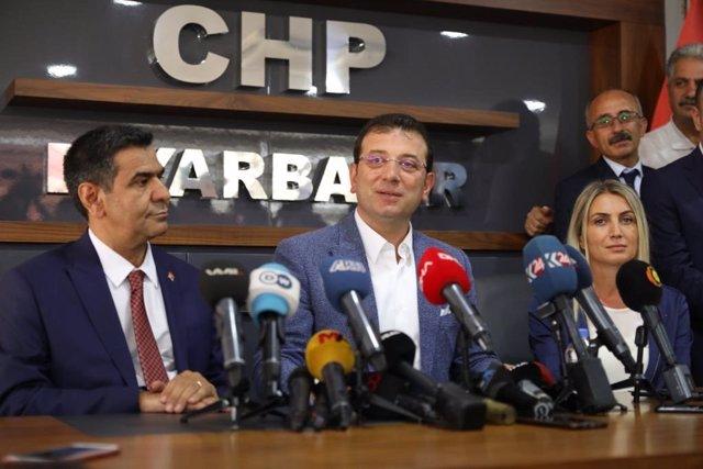 Emrem Imamoglu, alcalde de Estambul