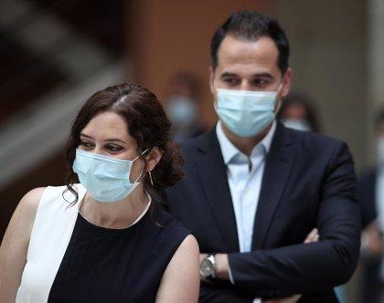 Ayuso y Aguado harán balance de gobierno este miércoles en un acto en Sol y no en Manzanares El Real por falta de aforo