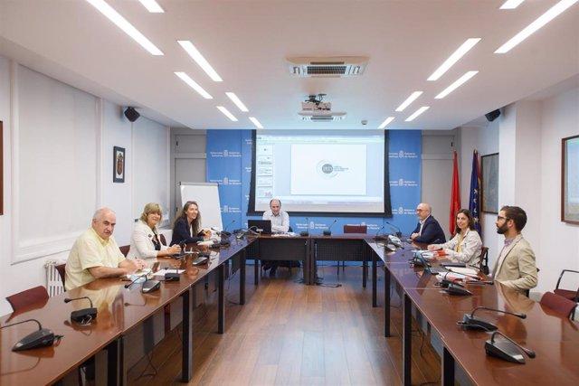 Reunión de la Comisión Interdepartamental del Gobierno de Navarra para el impulso y seguimiento del Polo de Innovación Digital
