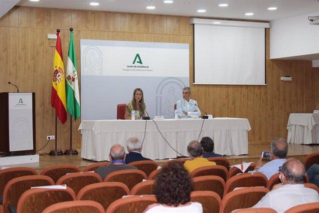 Presentación del plan de contingencia para la plaza de toros de Huelva.