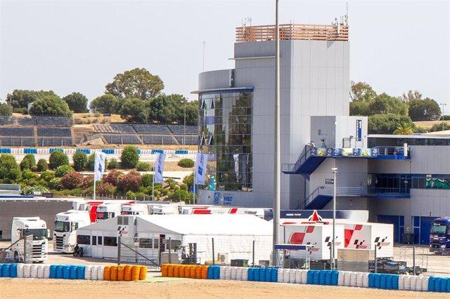 Preparativos en el Circuito de Jerez para acoger los dos grandes premios de 2020