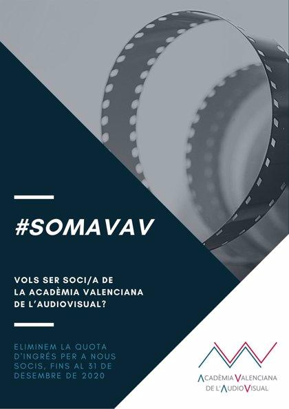 Acadèmia Valenciana de l'Audiovisual lanza una campaña para captar nuevos socios