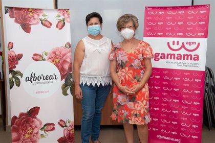 Diputación y Agamama evalúan el proyecto que procura atención integral a la mujer con cáncer de mama