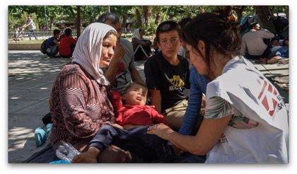 MSF denuncia que Grecia amenaza con dejar en la calle y sin ayudas a miles de refugiados vulnerables