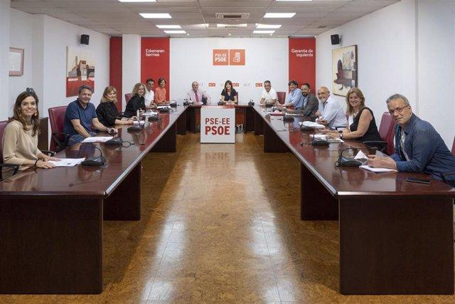 Reunión de la Comisión ejecutiva del PSE-EE