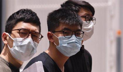 El activista Nathan Law llega a Londres tras abandonar Hong Kong por la aplicación de la Ley de Seguridad