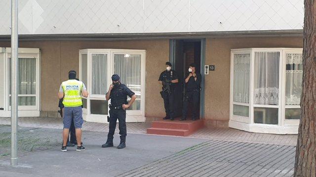 Registro en la Barceloneta or la operación antiterrorista