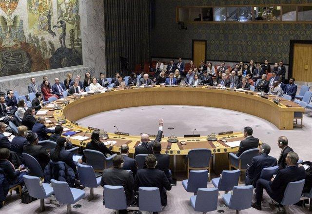 Reunió del Consell de Seguretat de l'ONU