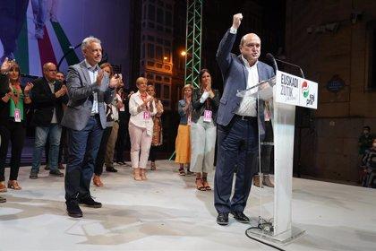 PNV no descarta reeditar un pacto de coalición con PSE porque las urnas han dicho que es el eje que debe gobernar