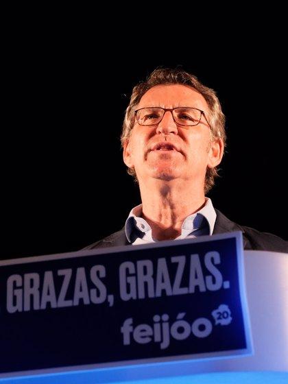 """Feijóo critica al Gobierno por no agradecer """"de manera contundente"""" a Inditex la donación de material sanitario"""