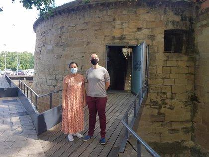 El Cubo del Revellín se reabre mañana a las visitas turísticas con un aforo reducido a 97 personas