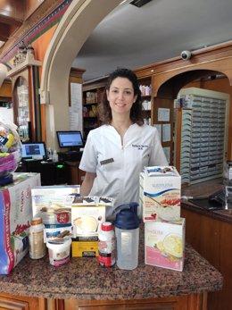 Ana Zurita Ortega, alumna del programa de Doctorado en Farmacia Social de la Escuela Internacional de Posgrado de la UGR y primera autora de este estudio