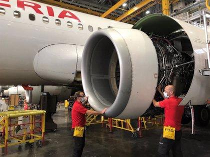 Iberia recibe la calificación de centro de trabajo seguro frente a la Covid-19 de Applus+
