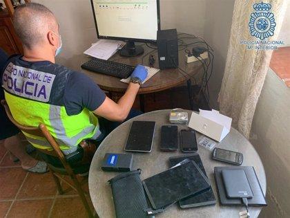 Detenido un joven vecino de Úbeda (Jaén) acusado de corrupción de menores a través de las redes sociales