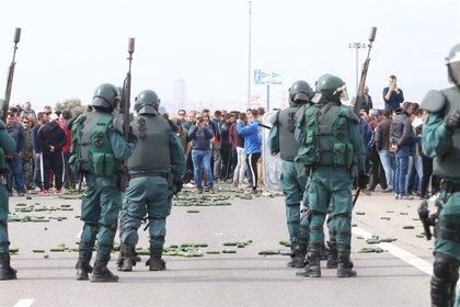 Las protestas de los agricultores que cortaron la A-7 en febrero en Almería se saldan con ocho expedientes sancionadores