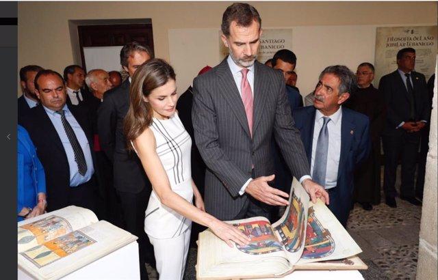 """La visita de los Reyes a Cantabria """"antes de que acabe el mes"""" se centrará en po"""