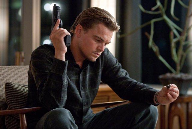 Leonardo DiCaprio en Origen (Inception)