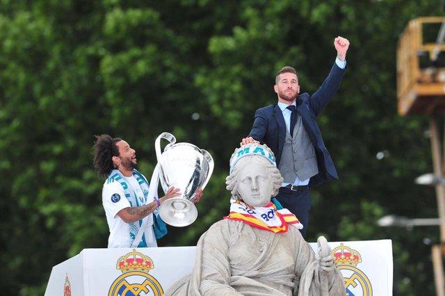 Fútbol.- Madrid blindará Cibeles con amplios perímetros para evitar aglomeracion
