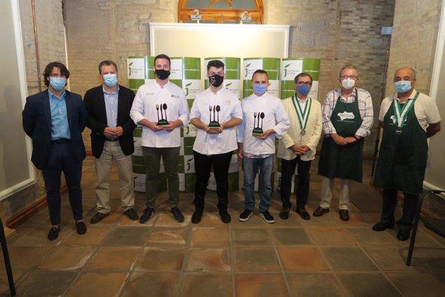 Enttrega de premios del VI Concurso Andaluz de Jóvenes Cocineros y Cocineras