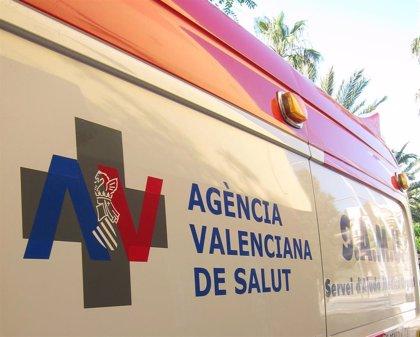 Cinco heridos en un accidente entre dos coches en la CV-585 a su paso por Xàtiva