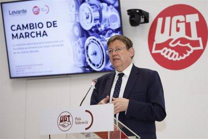 """Puig presentará a Europa proyectos sobre movilidad y el turismo por ser los sectores """"más afectados"""""""