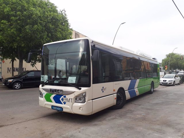 Un autobús de la EMT Palma.