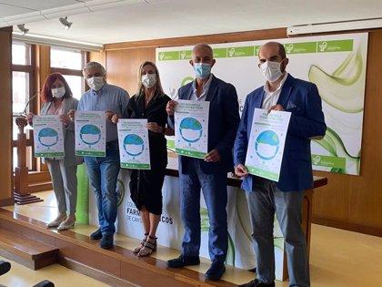 Las farmacias de Cantabria impulsan una campaña de recogida de mascarillas usadas